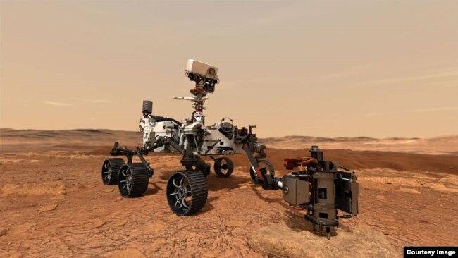 NASA: Rover Perseverance