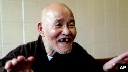 Thich Qua (75) peraih nominasi penghargaan Nobel, yang dicap sebagai pembangkang oleh penguasa Vietnam, mengatakan dia akan terus berjuang untuk terciptanya kebebasan beragama dan demokrasi di Vietnam (Foto: dok).