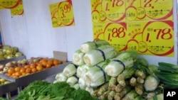 中国人把便宜价格称作白菜价,现在白菜也不太便宜了