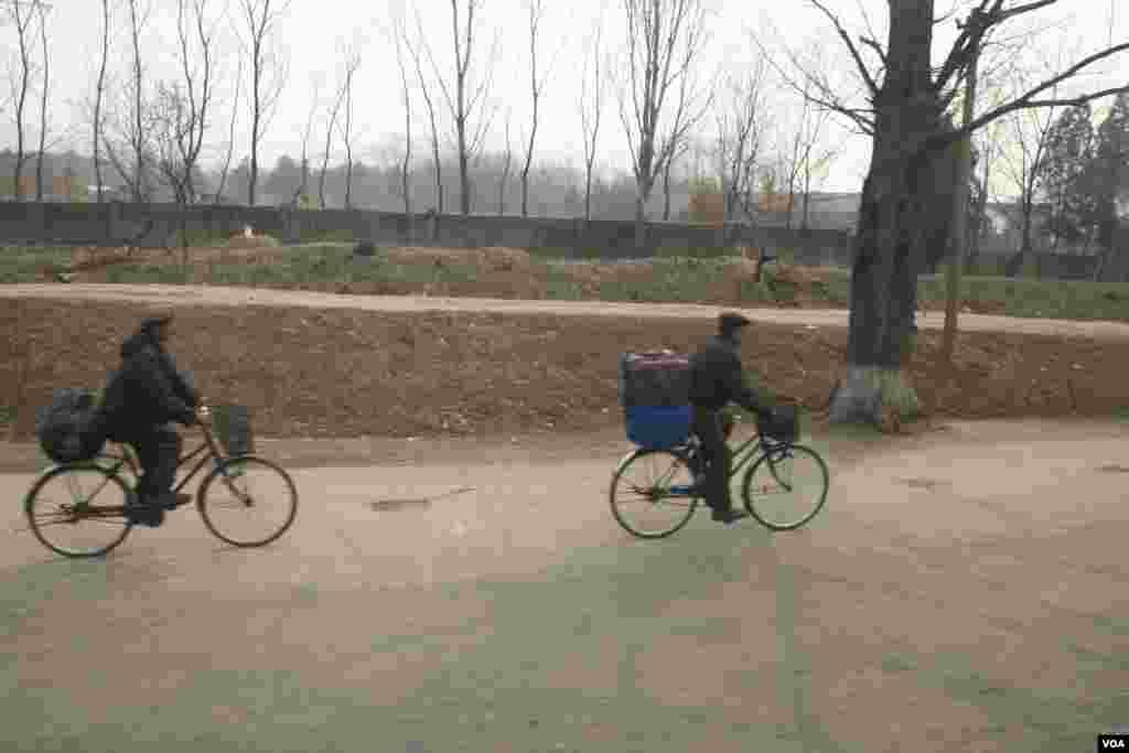 Велосипед - основной вид транспорта