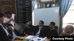 ေရွ႔ေနအသင္းမ်ားမွ ေၾကညာခ်က္ ထုတ္ျပန္ (Myanmar Media Lawyers' Network)