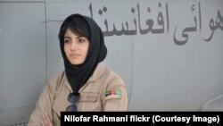 نیلوفر رحمانی نخستین بانوی پیلوت قوای هوایی افغان پس از سقوط طالبان بود