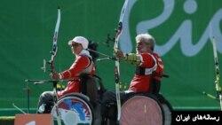 زهرا نعمتی و ابراهیم رنجبر، اعضای تیم تیراندازی ایران