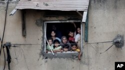 Palestinski civili u Gazi