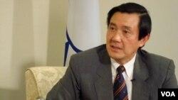 Pemerintah Tiongkok menikmati hubungan yang membaik dengan pemerintahan Presiden Taiwan, Ma Ying-jeou.