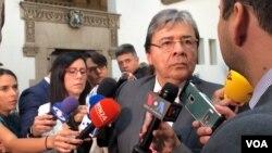 El canciller de Colombia, Carlos Holmes Trujillo, intervino el miércoles 11 de septiembre de 2019 ante países de la OEA para abordar situación en Venezuela.