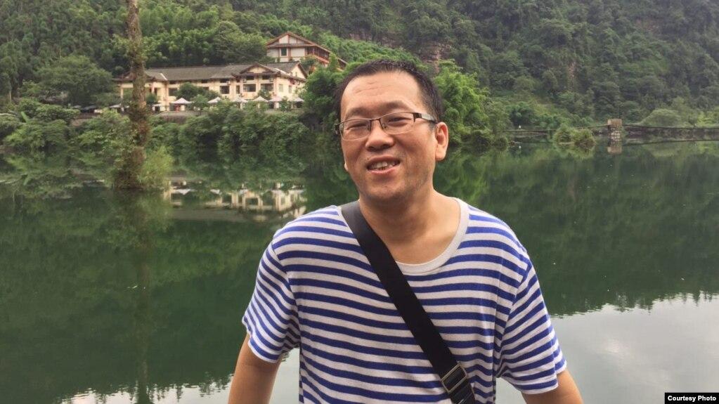 广东维权律师隋牧青(推特图片)
