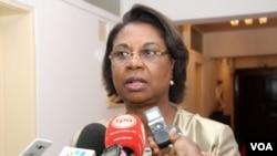 Angola ministra da indústria Bernarda Martins