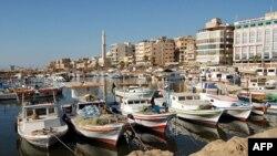 Сирийский порт Тартус