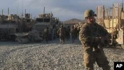 U.S. forces are scheduled to begin a slow withdrawal from Afghanistan starting in July.