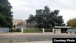 日内瓦联合国总部(图片来自蔡淯铃女士脸书)
