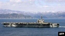 Американський авіаносець закінчив свою місію в Ормузькій протоці
