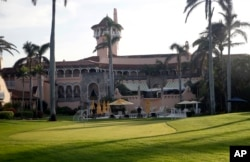 FILE - President Donald Trump's Mar-a-Lago resort is seen in Palm Beach, Fla.