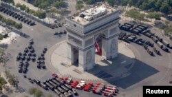Париж, Франция. 14 июля 2013 г.