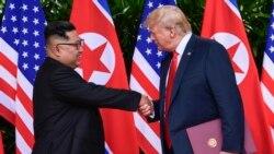 Trump နဲ႔ Kim ထိပ္သီးေဆြးေႏြးပြဲ က်င္းပေရးဆက္ ေဆြးေႏြးမည္