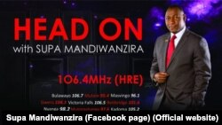 Media, Information and Broadcasting Services Deputy Minister Supa Mandiwanzira.