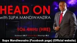 Deputy Information Minister Supa Mandiwanzira