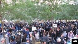"""纽约市""""占领华尔街""""示威者"""
