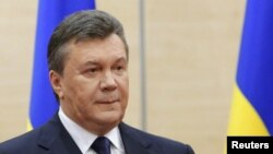 Viktor Yanukovich Rossiyadan panoh topgan