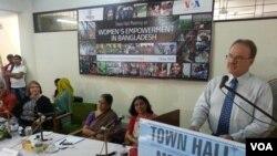 Ambassador Dan Mozena, Rangpur, Bangladesh