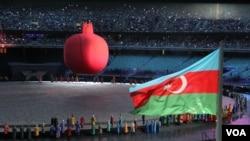 Birinci Avropa Oyunlarının açılışı olub