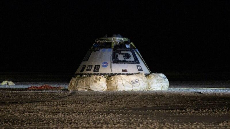 Boingov modul sleteo u pustinju posle neuspešne misije