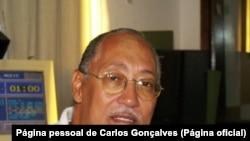 Carlos Gonçalves, jornalista cabo-verdiano