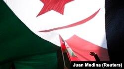 Manifestation de soutien à l'indépendance du Sahara occidental, à Madrid le 16 novembre 2014.