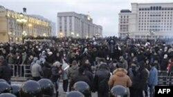 Moskva polisi təhlükəsizlik tədbirlərini gücləndirib