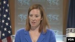 Phát ngôn nhân Bộ Ngoại giao Hoa KỳJennifer Psaki gọi vai trò của Hezbollah đứng về phía quân đội Syria trong cuộc giao tranh này là không thể chấp nhận được.