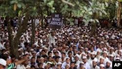 په بنگله دیش کې روهینگیایي مهاجر