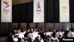 2017年7月11日,國際奧委會在瑞士洛桑開會。