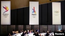 国际奥委会在瑞士洛桑开会 (2017年7月11日)