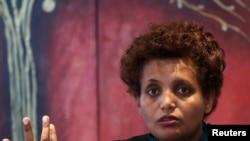 Perezida wa Komisiyo y'Amatora ya Etiyopiya Birtukan Mideksa