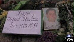 槍殺事件 震撼東烏克蘭小鎮, 圖為其中一名死者