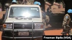 Inteko mpuzamakungu mu gisagara ca Bria muri Republika ya Centrafrika.