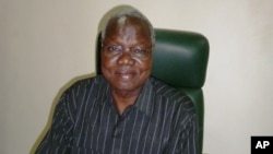 Chan Reec Madut, chief justice of the South Sudan Supreme Court, in his office in Juba.