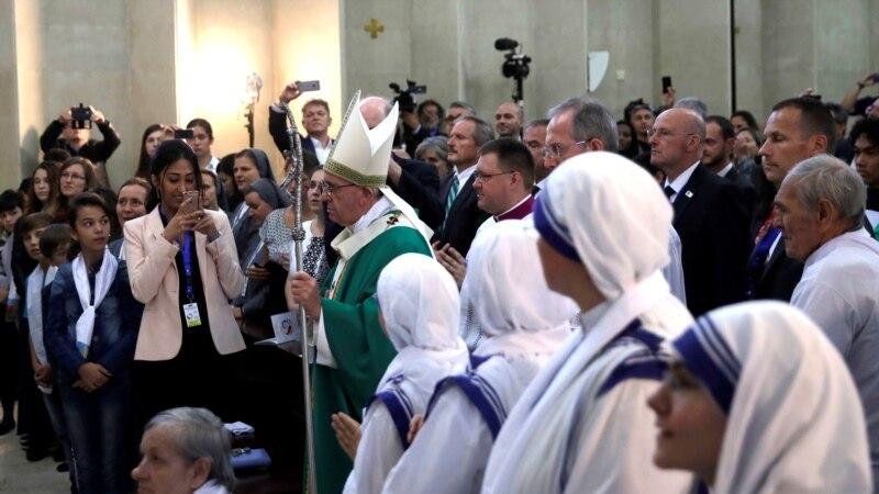 папа франциск отслужил мессу азербайджане