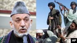 تقاضای حامد کرزی از رهبری طالبان به مذاکرات مستقیم