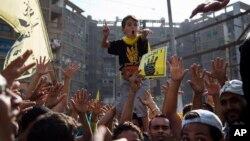 穆尔西支持者10月11日示威