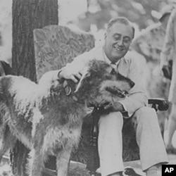 罗斯福总统摄于1933年
