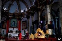 2016年12月28日,北京宣武门天主堂内景