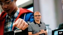 El presidente de Microsoft, Satya Nadella, dijo que ahora se enfocarán más en la inteligencia artificial.