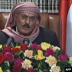 Ali Abdulla Solih, Yaman rahbari