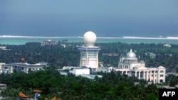 Thành phố Tam Sa trên đảo Phú Lâm thuộc Hoàng Sa do Trung Quốc xây dựng