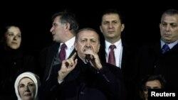 Hình ảnh của ông Erdogan đã bị vấy bẩn vì một đợt biểu tình chống chính phủ vào tháng Sáu năm ngoái.