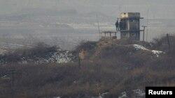 Severnokorejski granični punkt