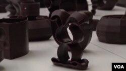 """Proizvodi od čokolade napravljeni 3D štampačem u """"La Miam Factory"""" u Belgiji"""