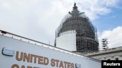 Derniers préparatifs au Congrès en vue du discours du président Barack Obama sur l'état de l'Union (Reuters)