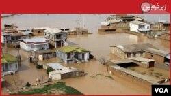 Inundações no Irão, Abril 2019